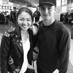OMG they're so cute 😍😘 #JaDine #onthewingsoflove @Regrann from @simplyme2016_2 -  Progression (next 3 posts are my favs).. #JaDine at the #LasVegas airport...  Photo 1: I asked Nadine I want a smile a real one! James I asked I want one where you are not posing! 😂  She laughed her signature laugh, and he was holding in his laughter!  #JamesReid & #NadineLustre   #RealPeople #RealHearts