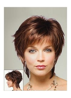 Flirty Edge Capless Fashion Synthetic Wig