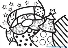 Dibujos de Navidad- Christmas Colors, Christmas Art, Tole Painting, Painting On Wood, Christmas Cards Drawing, Easy Coloring Pages, Doodle Coloring, Christmas Clipart, Fun Crafts