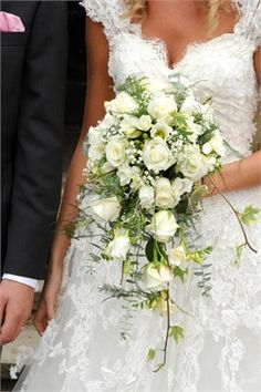 This bridal bouquet was themed around a 'dreamy' look. Using soft greenery such as rosemary, fern and eucalyptus.