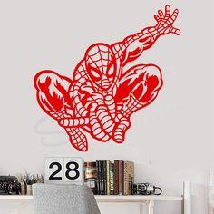 Sticker perete - Omul Paianjen Spiderman Chiar dacă nu vă putem oferi super puteri, vă putem ajuta să aducem o mică parte din acest super-erou in casele voastre.  #spiderman #omulpaianjen #decorperete #stickerdesign #stickerdecal #autocolante #autocolant #autocolantperete   #wallart #wallartwork #decorcasa #tineret #graphicdesign #decoratiuni #decoratiuniinterioare #spidermanfanart Spiderman Fanart, Decals, Graphic Design, Sport, Home Decor, Tags, Deporte, Decoration Home, Room Decor
