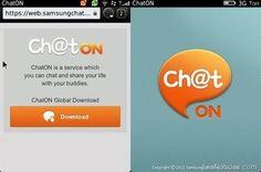 ChatON llega a #Blackberry