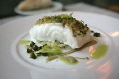 Steamed Cod at La Grenouille in #NYC