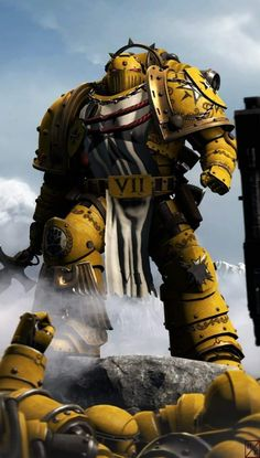 Warhammer 40k Memes, Warhammer Art, Warhammer 40000, Saga, Salamanders Space Marines, War Pigs, Futuristic Armour, Imperial Fist, Armor Concept