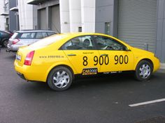 A fleet of 35 taxi's based at Dublin airport that we completely covered in black and yellow vinyl with a mixture of cut vinyl wording and printed logo's to give the New York cab theme to the fleet. #vinyl wrapping
