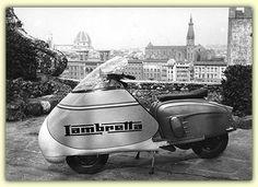 The 1965 Lambretta Monza special Vespa T5, Lambretta Scooter, Vespa Scooters, Retro Scooter, Scooter Custom, Custom Bikes, Tricycle, Maserati, Ducati