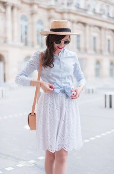 Blog-Mode-And-The-City-Looks-La-Chemise-Vichy-2