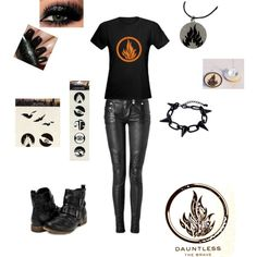 Divergent- dauntless outfit made this