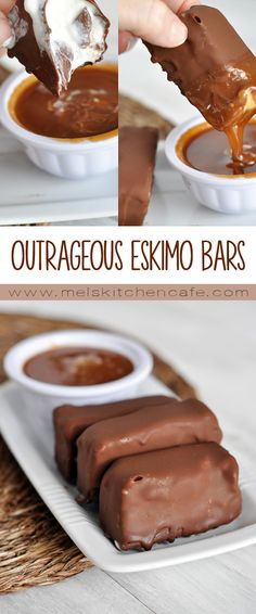 These Outrageous Eskimo Bars are outrageously delicious and they are really fun to eat!
