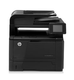 """HP LaserJet Pro 400 MFP M425dn CF286A#BGJ by HP. $510.80. Boost office productivity and save time with print speeds of up to 35 pages per minute with the HP LaserJet Pro 400 MFP M425dn. This compact HP laser multifunction printer lets you print from your smartphone or tablet with HP ePrint, and you can use the 3.5"""" color touchscreen to access apps to print business forms, documents stored on the cloud and other Web content. This laser printer also cuts down on paper use with au..."""