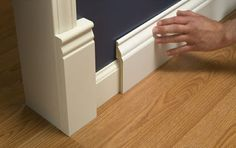 baseboards and crown molding types of baseboard molding base moulding ideas baseboard styles Baseboard Styles, Baseboard Molding, Base Moulding, Moldings And Trim, Baseboard Ideas, Molding Ideas, Bathroom Baseboard, Wainscoting Ideas, Painted Wainscoting