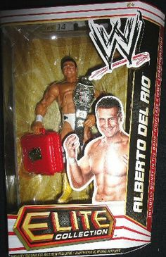 Mattel WWE Wrestling Elite Collection Series 14 Action Figure Alberto Del Rio by Mattel Toys. $57.99. Series 14. Highly Detailed Action Figure. Elite Collection. Capturing all the action and dramatic exhibition of sports entertainment, the Mattel WWE Elite Collection features authentically sculpted 6 inch figures of the biggest WWE Superstars. Figures feature deluxe articulation, amazing detail and accessories such as masks, armbands and costumes.
