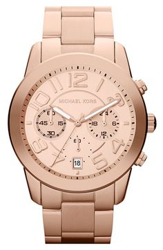Michael Kors 'Mercer' Chronograph Bracelet Watch available at #Nordstrom