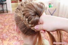 MENTŐÖTLET - kreáció, újrahasznosítás: hajfonás