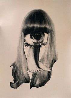 I don't know if it is but this reminds me of Hannah Hoch's work. Anyone know?