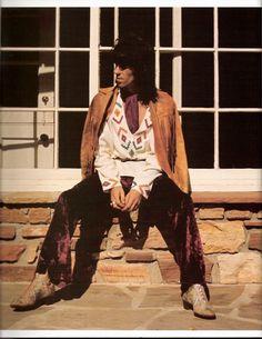 keith richards, fashion icon