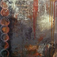 """""""The Reckoning"""" mixed media on wood by Jacqui Fehl"""