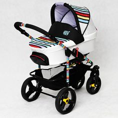 Cute Hipster Baby Stroller