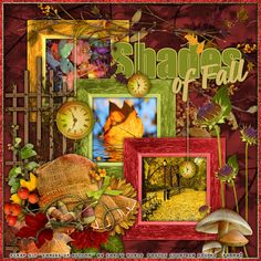 """This layout and siggy tag  was made with the awesome PTU scrap kit, """"Shades Of Autumn"""" by the talented Shal's World and available at Wilma4Ever.com"""