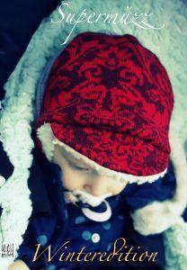 Supermüzz - Wintermütze nähen nach kostenloser Anleitung