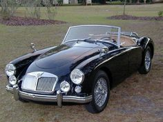 1958 MG-A Roadster.