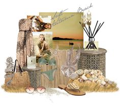 """Soft Autumn Beach"" by spicemarket on Polyvore"