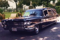 -1963 Cadillac Hearse