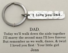 Father of the Bride gift from Bride Father of by SoBlessedDesigns