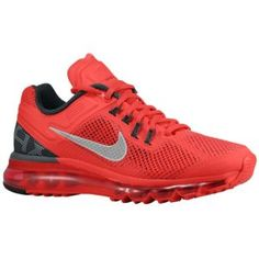 Nike Air Max + 2013 - Women\u0026#39;s - Hyper Red/Anthracite/White/Reflect