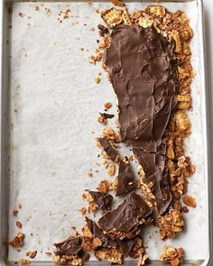 Matzo Toffee- possible topping for Salty Caramel Passover Sundae???