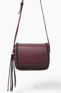 Pebbled faux-leather cross body bag with adjustable long strap. Flap with snap button fastening, decorative chain at front, double inner compartment and zipped inner pocket. Crossbody Shoulder Bag, Leather Crossbody, Leather Bag, Crossbody Bag, Leather Handbags, Shoulder Bags, Long Strap Purse, Vegan Handbags, White Handbag