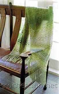 воздушный палантин Shawl Crochet, Crochet Chart, Irish Crochet, Crochet Scarves, Crochet Clothes, Crochet Lace, Crochet Hooks, Crochet Ideas, Poncho Shawl