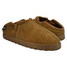 Men's Muk Luks Berber Suede Clog Slippers - Tan 13, Durable