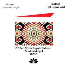 peyote patterninstant PDF-DownloadG2 pen pattern 071C G2