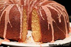 Shirley Temple Bundt - Like Shirley Temples, like maraschino cherries . . . this cake is calling my name!