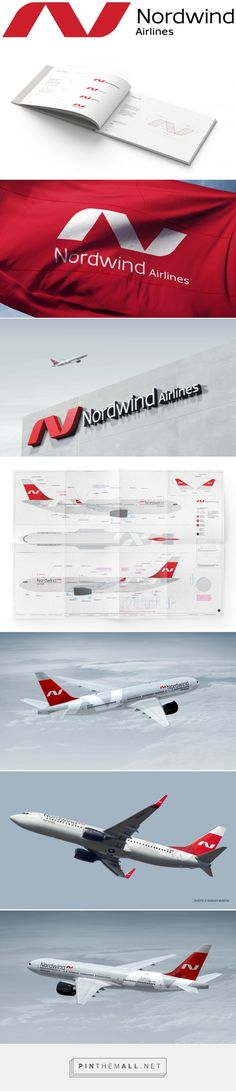 Brand New: New Logo and Livery for Nordwind Airlines by UMA... - a grouped images picture - Pin Them All