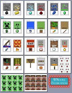 MineCraft Birthday Party Ideas | Photo 9 of 9