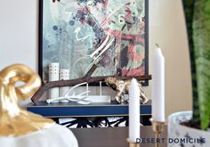 Blogger Stylin' Home Tour: Fall 2014 #diningroom #styling