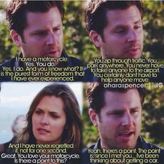 Only Shawn Spencer can say this and make it so meaningful.