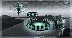 Région Avatar préparée par Cherry Manga, djphil Cendres Magic etc ... en vue du Fest'Avi sur FrancoGrid