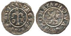 "Sweden, Gustav II Adolf SM 77 1 öre 1624 1,07 g. Praktexemplar med finaste stämpelglans. ""As struck"". 01/0  Dealer AB Philea  Auction Starti..."