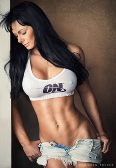 SENSUAL STRENGTH of Russian muscle babe & #Fitness model Maria Kuzmina : if you LOVE Health, Workouts & #Inspirational Body Goals - you'll LOVE the #Motivational designs at CageCult Fashion: http://cagecult.com/mma