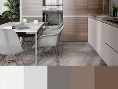 Warm Gray Paint, Warm Grey, Corner Desk, Chair, Kitchen, Furniture, Home Decor, Corner Table, Cooking