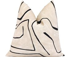 Check out our pillow selection for the very best in unique or custom, handmade pieces from our decorative pillows shops. Cream Pillow Covers, Square Pillow Covers, Cream Pillows, 20x20 Pillow Covers, Pillow Cover Design, Camper Cushions, Boho Cushions, Handmade Pillow Covers, Handmade Pillows