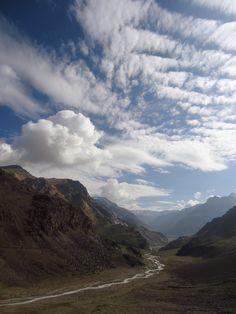 The river Spiti  http://travelspiti.com/camping-in-spiti/