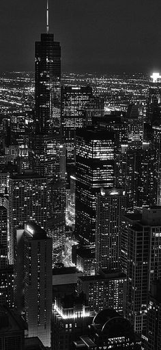 City view night dark iPhone X Wallpapers