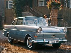 Opel Rekord Coupe (1960 – 1963).