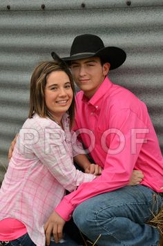 My babies Sr. picture with her man.
