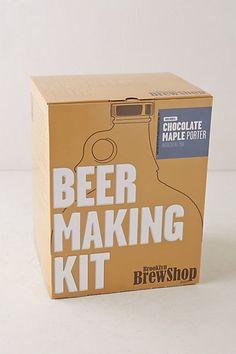 Ensemble de fabrication de bière Brooklyn Brew Shop