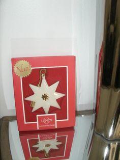 "Lenox 2013 ""Pleated Star Ornament"""